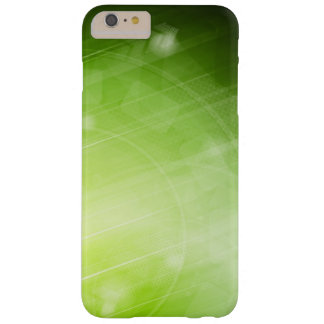 Green light design in hi-tech style barely there iPhone 6 plus case