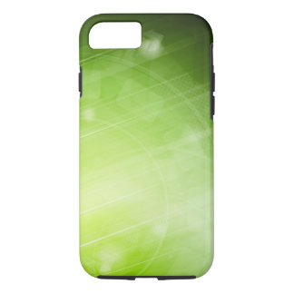 Green light design in hi-tech style iPhone 8/7 case