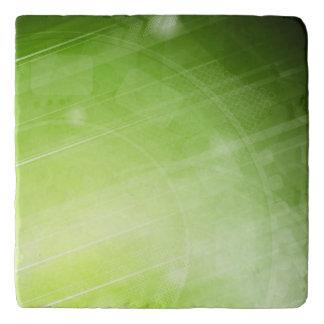 Green light design in hi-tech style trivet
