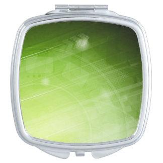 Green light design in hi-tech style vanity mirrors