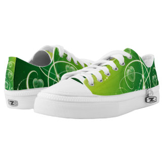 Green & Light Low Tops