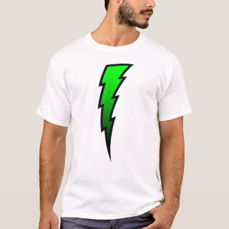Green Lightning Bolt T-Shirt
