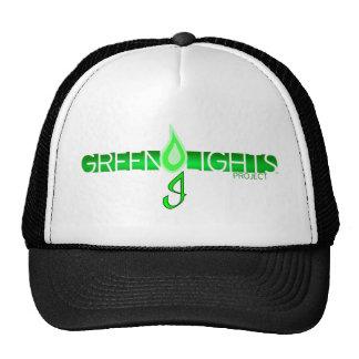 Green Lights Logo Mesh Hats