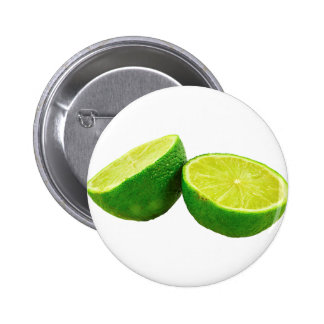 Green Lime 6 Cm Round Badge