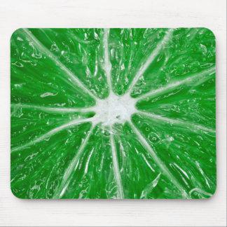 Green Lime Macro - Mousepad