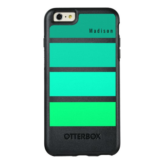 Green Lime Summer Hues Monogram OtterBox iPhone 6/6s