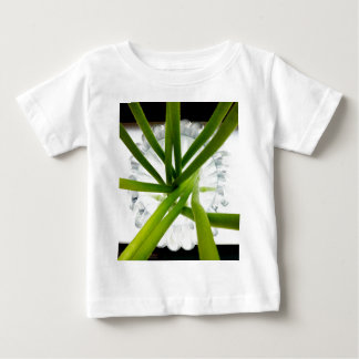 Green lines baby T-Shirt