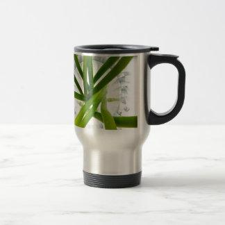 Green lines coffee mugs