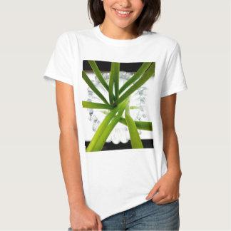 Green lines tee shirts