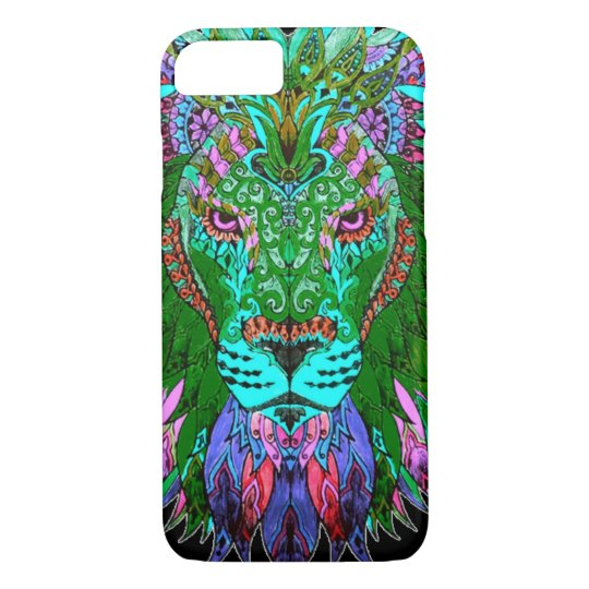 Green Lion iPhone 7 Case