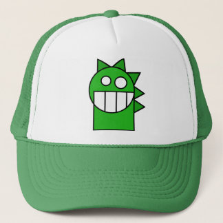 Green little dragon hat