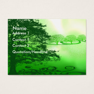 Live green business cards business card printing zazzle uk green living business card reheart Gallery