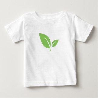 Green Living   Green Graphic Design Baby T-Shirt