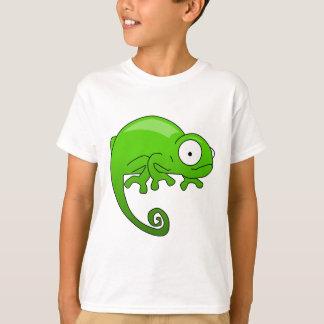 green lizard iguana cartoon T-Shirt