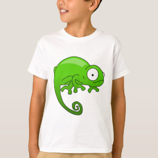green lizard iguana cartoon tee shirt