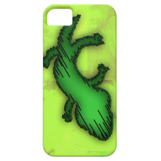 Green Lizard Phone Case