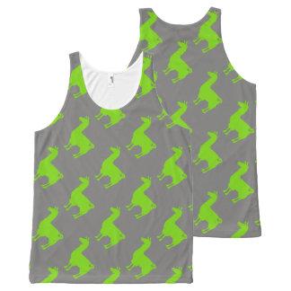 Green Llama Tank Top Pattern