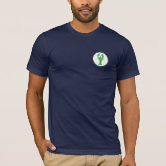 Green Lobster left chest T-Shirt