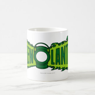 Green Logo Flames Coffee Mug