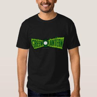 Green Logo Flames Tshirts