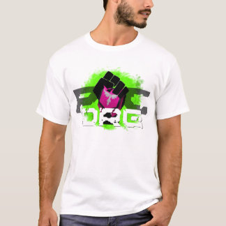 Green Logo T-Shirt: Men's White T-Shirt