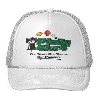 Green Logo White Hat