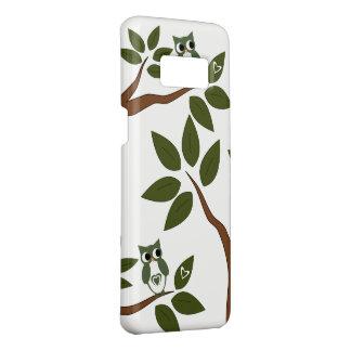Green Love Owl In Tree Case-Mate Samsung Galaxy S8 Case