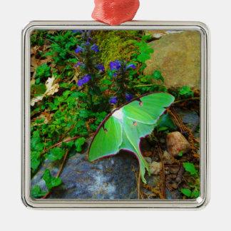 Green Luna moth Christmas Ornament