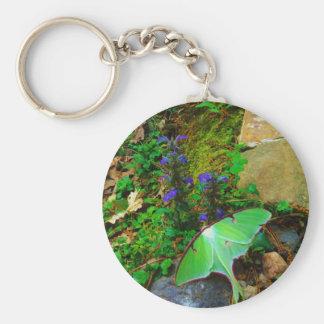 Green Luna moth Key Chains