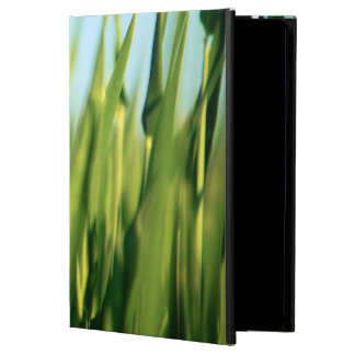 Green Lush Grass close one Up iPad air case