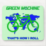 Green Machine Mouse Mats