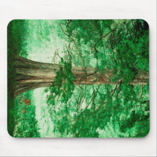 Green magic mouse pad