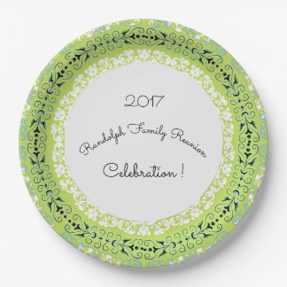 GREEN-MAGICAL-FLORAL-CELEBRATIONS-_FULL-Template Paper Plate