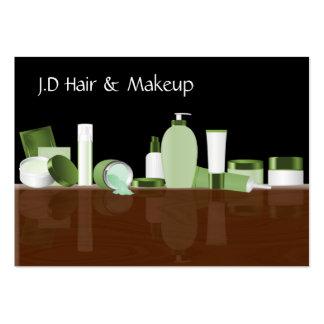 green Makeup artist Business Cards