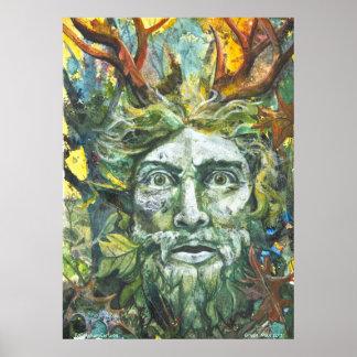 Green Man 2012 Poster