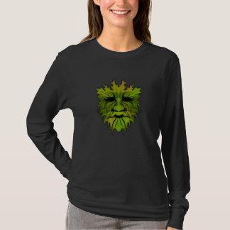 Green Man for Luck Long Sleeves T-Shirt