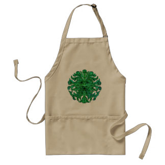Green Man Gaze Standard Apron