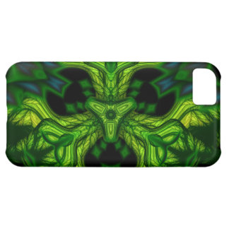 Green Man Goblin – Emerald and Gold Mask iPhone 5C Case