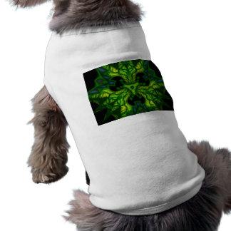 Green Man Goblin – Emerald and Gold Mask Doggie Shirt
