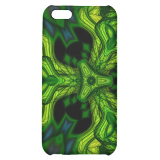 Green Man Goblin – Emerald and Gold Mask Cover For iPhone 5C