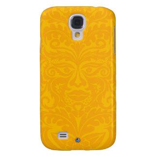 Green Man In 2 tones Yellow Galaxy S4 Case