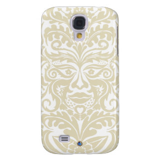 Green Man in natural white and stone Galaxy S4 Case