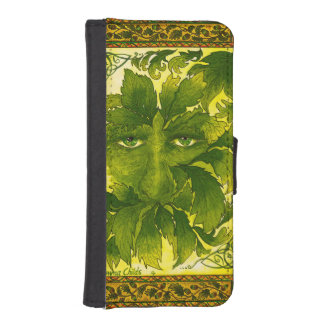 Green Man Mobile Phone Flip Case