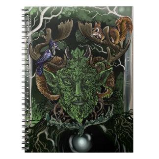 Green Man~ notebook