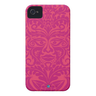 GREEN MAN Pink Blackberry Bold  Case iPhone 4 Case