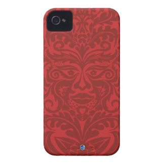 GREEN MAN Red Blackberry Bold  Case iPhone 4 Case-Mate Cases