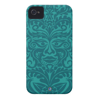 GREEN MAN Turquoise Blackberry Bold  Case Case-Mate iPhone 4 Cases