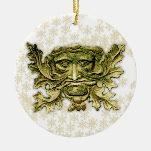 Green Man V2 - Ornament #3