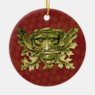 Green Man V2 - Ornament #7