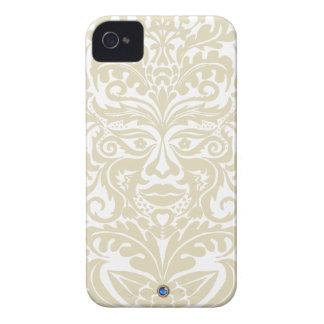 GREEN MAN White Stone Blackberry Bold  Case iPhone 4 Case